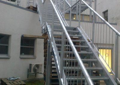 Horganyzott tűzlépcső, Magdeburg